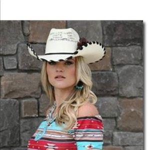 Accessories - Diamond diva custom wrangler hat